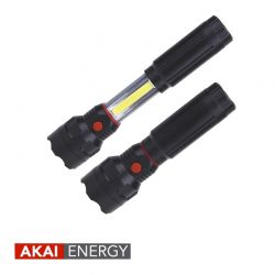 Linterna LED multifunción AKAI ENERGY