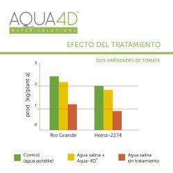 AQUA 4D Aumento de la producción