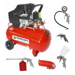 Compresor 2.5HP SHIMAHA C/KIT 5 PIEZAS