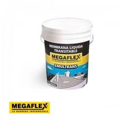 Membrana líquida transitable / 20KG BLANCO MEGAFLEX