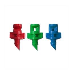 Microjet 180º/360º/90º fijo plástico